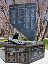 Nevada law enforcement officers memorial for carson city Royalty Free Stock Photo