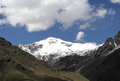 Nevado sajama the highest peak in bolivia Royalty Free Stock Images