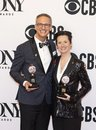 Nevin Steinberg & Jessica Paz Win at 2019 Tony Awards Royalty Free Stock Photo