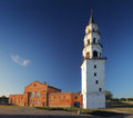 Nevjansky falling tower of XVIII century Stock Photos