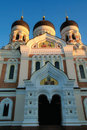 Nevsky Cathedral Royalty Free Stock Photography