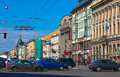 Nevsky Prospect in Saint Petersburg Royalty Free Stock Photography