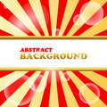 New abstract background red with space for text Stock Photography