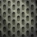 New abstract textured background perforated metal grate can use like industrial wallpaper Stock Image