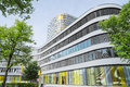 New adac headquarters storey office tower rises above store munich germany may the accommodates employees who were previously Royalty Free Stock Photography