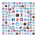 New Apps communication bubble Stock Images