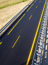 New autobahn road of a Stock Photo