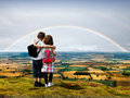 New beginning children Royalty Free Stock Photography