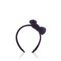 New black headband. Studio shot isolated on white Royalty Free Stock Photo