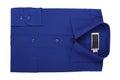 New blue shirt Royalty Free Stock Photo