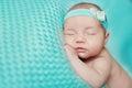 New born baby asleep Royalty Free Stock Photo