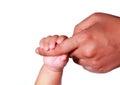 New Born Baby Hand Royalty Free Stock Photo
