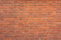 New brick wall red surface Stock Image