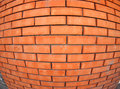 New Brick Wall  With Wide Angl...