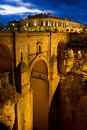 New Bridge in Ronda Stock Photos