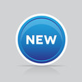 New button vector Royalty Free Stock Photos