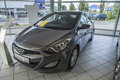 New car hyundai i hp picture is from the exhibition to moss two stroke as in norwegian moss to takt as in moss norway Stock Photo