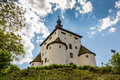 New Castle above the city of Banska Stiavnica