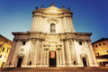 New Cathedral in Brescia Royalty Free Stock Photo