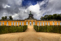 New Chambers (Neue Kammern)  in Sanssouci park in Potsdam Royalty Free Stock Photography