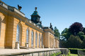 The new chambers in sanssouci park in potsdam germany Royalty Free Stock Photo