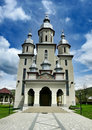 New church in Maramures Royalty Free Stock Photos