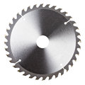 New circular saw blade Royalty Free Stock Photo