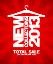 New collections 2013 design. Royalty Free Stock Images