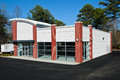 New commercial building available for sale or lease Stock Photos