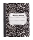 New Composition Book Royalty Free Stock Photo