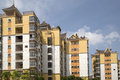 New condo in south of china background Royalty Free Stock Image