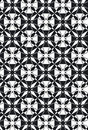New Damask Style Pattern Star Stock Photo