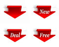 New Deal Free Red Stock Image