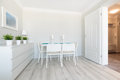 New design dining area Royalty Free Stock Photo