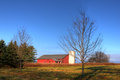 New England barn Stock Photo