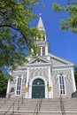 New england church Royalty Free Stock Image