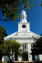 New england church quaint in Royalty Free Stock Photography