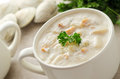 New England Clam Chowder Royalty Free Stock Photos