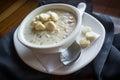 New England Clam Chowder Royalty Free Stock Photo