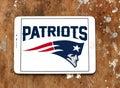 New England Patriots american football team logo Royalty Free Stock Photo
