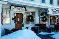 New England village Royalty Free Stock Photo