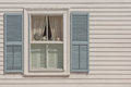 New England window Royalty Free Stock Photo