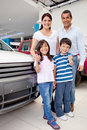 New family car Royalty Free Stock Photography