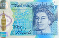 Five Pound Note Detail