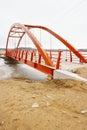 New footbridge Stock Photography