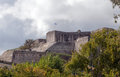 New fortress in corfu the massive town greece which was built during venetian rule by the duke of savoy Stock Images