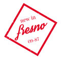 New In Fresno rubber stamp