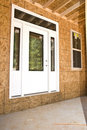 New Front Door/Construction Royalty Free Stock Photos
