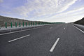 New Highway Royalty Free Stock Photo