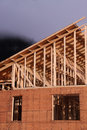 New home construction 2 Royalty Free Stock Photos